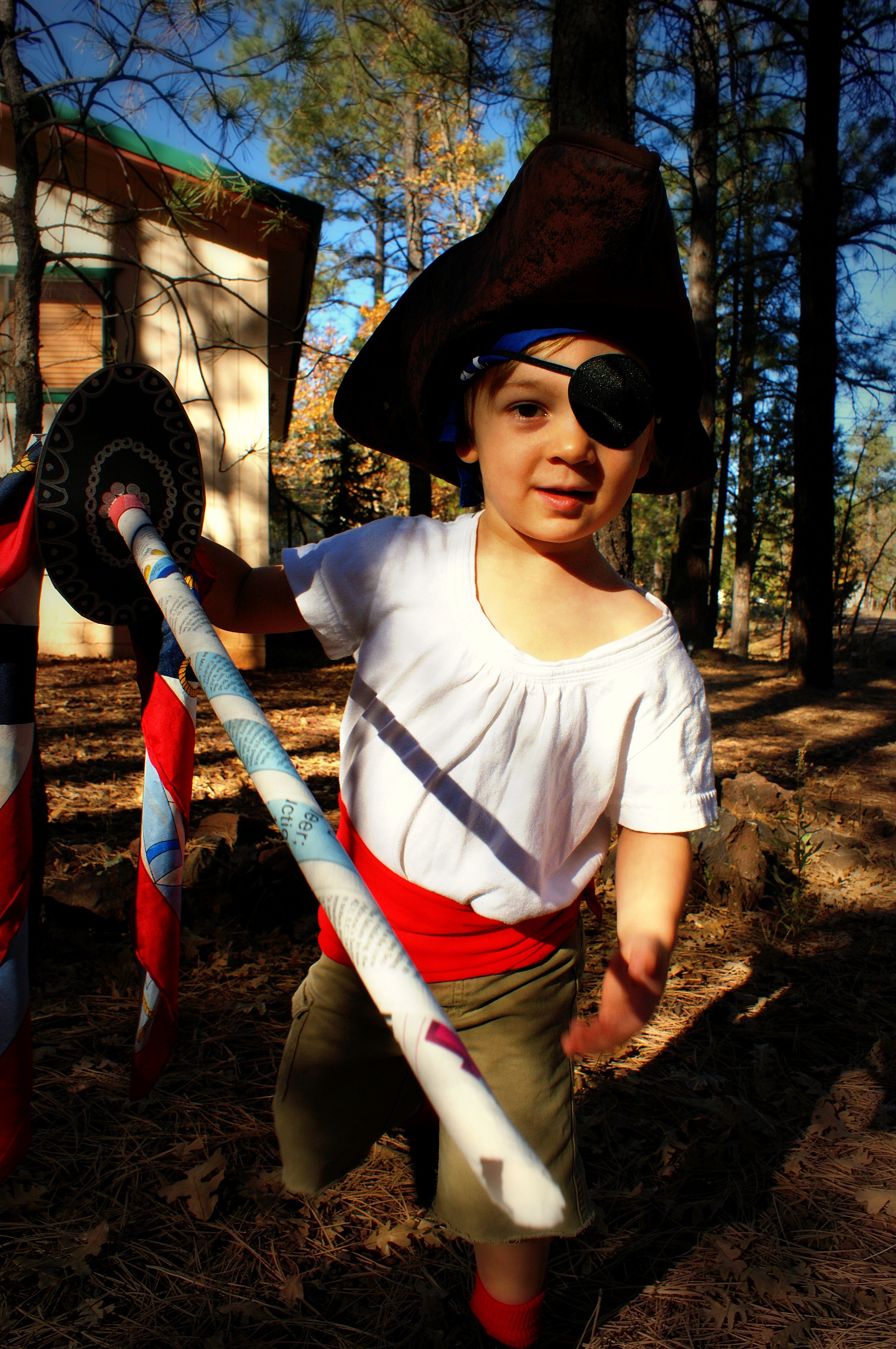 Cheap And Easy Diy Pirate Costume Slangshot