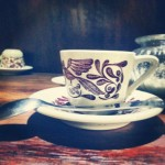 Antique Mexican Coffee Cup