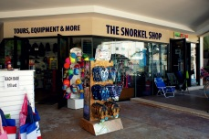 The Snorkel Shop in Playa del Carmen, MX. (Photo/Kendra Yost)