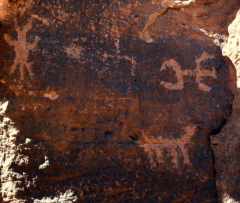 Hopi petroglyphs at the Homolovi ruins (Photo/Kendra Yost)
