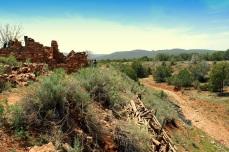 The LIttle Colorado River at the Kinishba Ruins in Whiteriver, AZ.