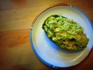 Avocado & Tuna (Photo/Kendra Yost)