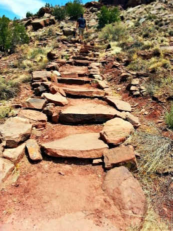 Petroglyph Trail in St. John's, Arizona. (Photo/Kendra Yost)
