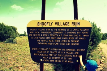 Shoofly Village Ruins in Payson, Arizona. Photo/Kendra Yost