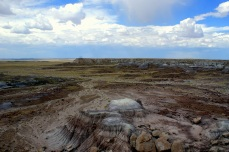 Blue Mesa in Petrified National Monument in Arizona. Photo/Kendra Yost
