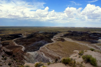 Blue Mesa in the Petrified National Monument in Arizona. Photo/Kendra Yost
