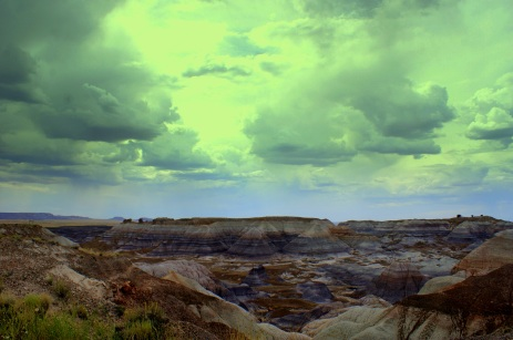 The Painted Desert in the Petrified National Monument. Photo/Kendra Yost