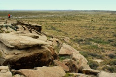Puerco Pueblo in the Petrified Forest National Monument. Photo/Kendra Yost