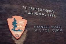 Painted Desert Visitor Center in the Petrified Forest National Park. Photo/Kendra Yost
