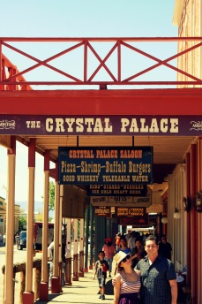 The Crystal Palace Saloon in Tombstone Arizona. Photo/Kendra Yost