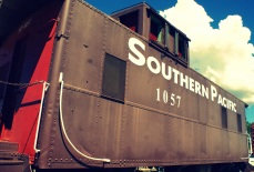 Southern Pacific caboose in Tombstone Arizona. Photo/Kendra Yost