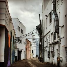 Miami South Beach alley