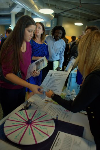 the Job & Community Resource Fair hosted by U.S. Rep. Kathy Castor in Tampa for Diversified Sourcing Solutions. Photo/Kendra Yost