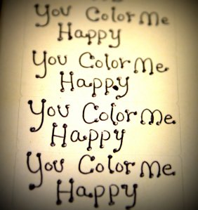 youcolormehappytext