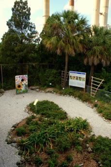 The butterfly garden at the Manatee Viewing Center at Apollo Beach. Photo/Kendra Yost