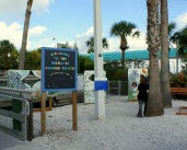 Entrance to Manatee Viewing Center at Apollo Beach. Photo/Kendra Yost