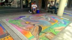Hyde Park Chalk Walk 2014 in Tampa, FL. Photo/Kendra Yost